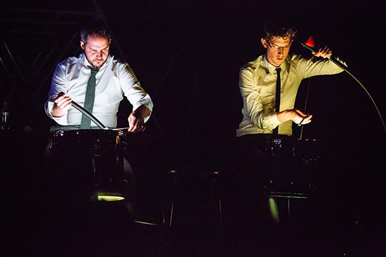 Speak Percussion perform Pyrite Gland, Singapore 2015