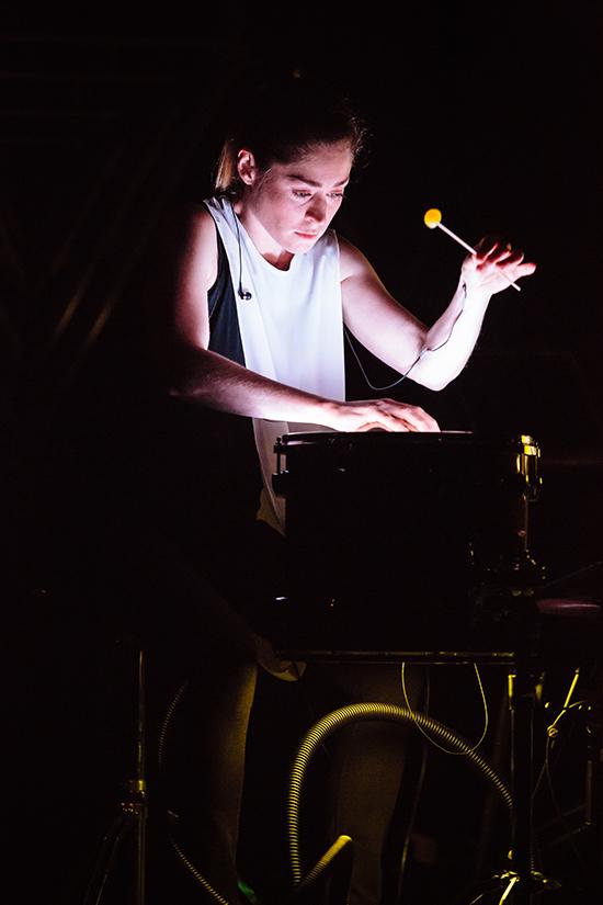 Louise Devenish, Speak Percussion