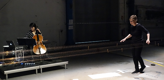 Ellen Fullman, Theresa Wong, Long String Instrument, Sydney Festival 2017