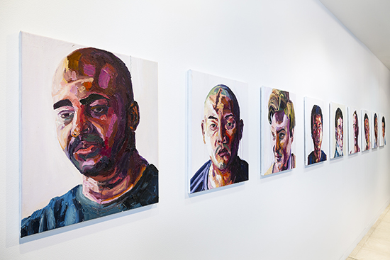 Installation of works by Myuran Sukumaran, Another Day in Paradise