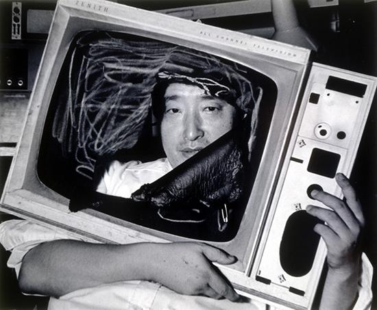 Nam June Paik in New York City, 1983