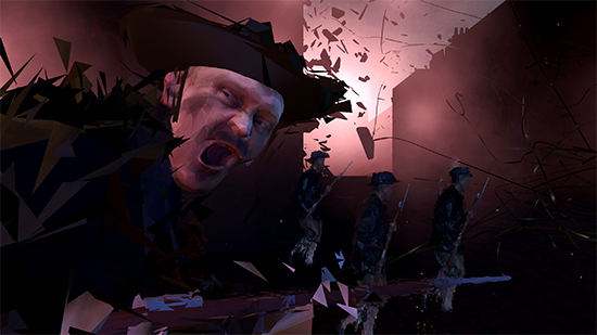 Easter Rising VR work by VRTOV Studios, courtesy AIDC