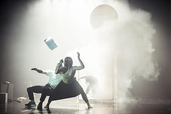 Anti—Gravity rehearsal, Chunky Move