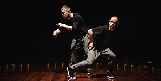 Antony Hamilton, Alisdair Macindoe, Meeting, Perth International Arts Festival 2017