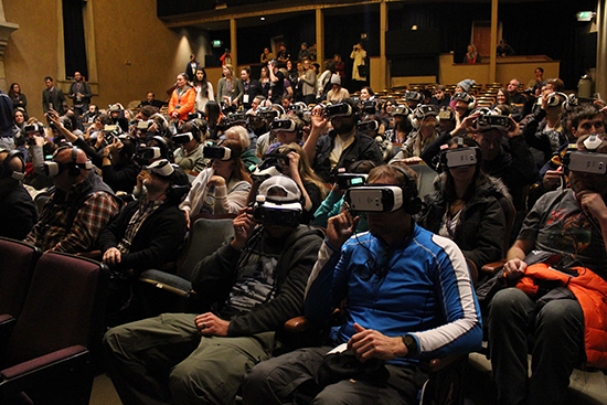 Screening of Collisions, Lynette Wallworth at Sundance 2016