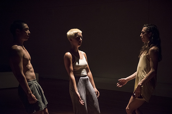 Julian Wong, Ivey Wawn, Bhenji Ra, Rhiannon Newton's Bodied Assemblies, Dance Massive 2017