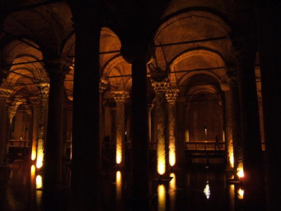 Yerebantan Sarayi Palace cistern
