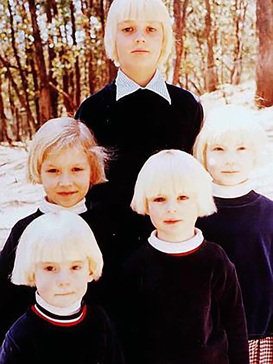 Five of the boys raised at Lake Eildon, The Family