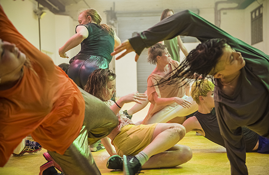 Deep Sea Dances, Rebecca Jensen and ensemble, Dance Massive 2017