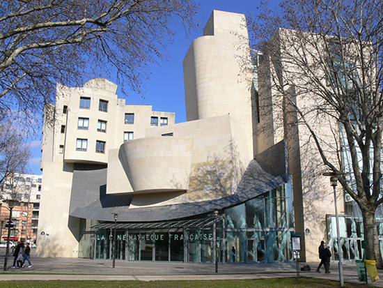 Cinematheque Francaise, building designed by Frank Gehry