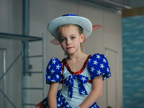 Hannah Cagwin as JonBenet Ramsey