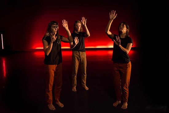 Body Like a Neon Sign, Paea Leach, Tomorrow Makers, Dancenorth